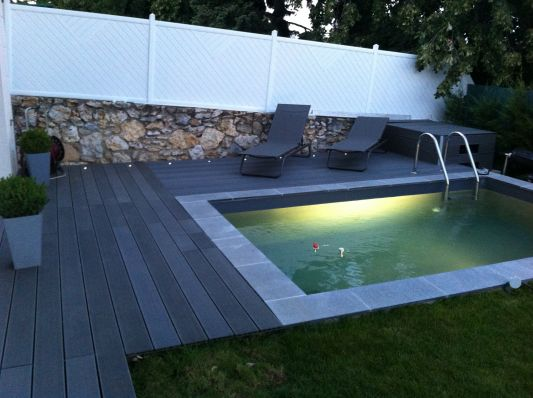 quels sont les avantages d 39 une mini piscine mini piscine la piscine de moins de 10m2 sans. Black Bedroom Furniture Sets. Home Design Ideas