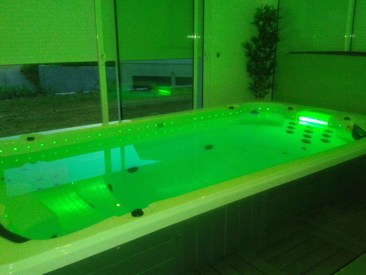 Spa de nage consommation electrique et autres for Rechauffeur electrique piscine consommation