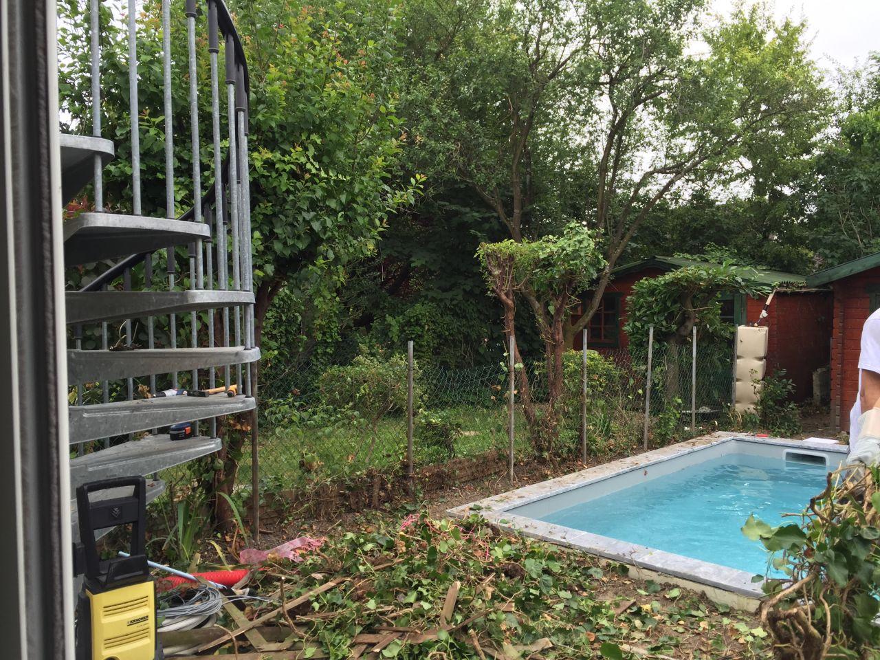 Photo On change de clôture. - Jardin - Val D Oise (95 ...