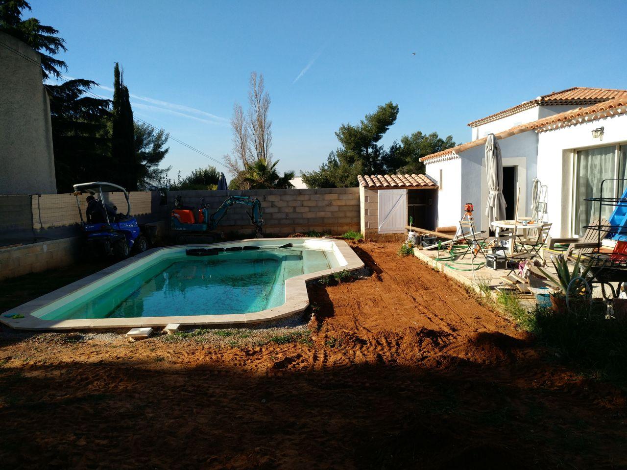 Préparation du sol et mise à niveau en douceur