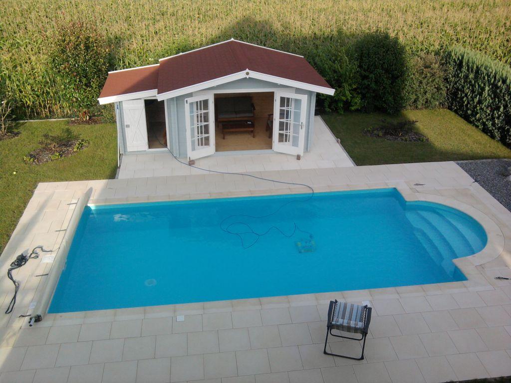 Photo piscine et am nagement ext rieur termin s bas rhin for Piscine 67