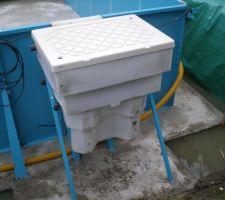 Mise en place du bloque de filtration in sera consolider par la suite avec des aglos