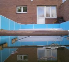 Vue interieur de la piscine