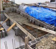Ce matin 1,5M3 de beton à la betonniere