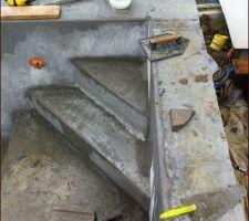 L 'escalier d angle a modifier