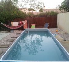 notre piscine aquadiscount 2x5 semi enterr e les photos