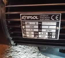 Descriptif pompe kripsol