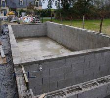Fin du montage des blocs