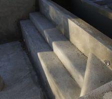 Enduit hydrofuge escalier