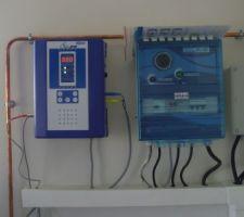 électrolyseur au sel, tableau électrique,