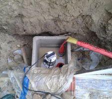Détail puits de décompression