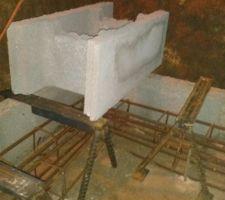 Principe des supports métallique fait maison .