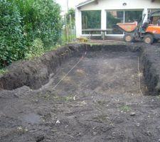 Le trou est creusé
