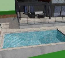 Notre projet en 3D (fait maison donc s'est pas parfait....).  Je suis preneur de vos commentaires !