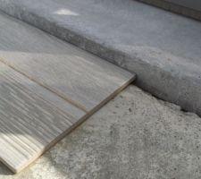Decalage entre hauteur terrasse et margelle