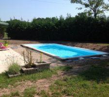 26° dans l'eau  29° dans l'air .....beau week end baignade!