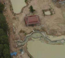 08 juin 2004 : Vue aérienne de la structure