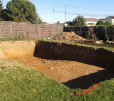 Grand bain vers le fond alors que nous voulions le grand bain vers notre terrasse...