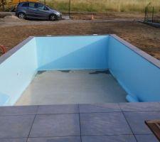 PVC bleu ciel