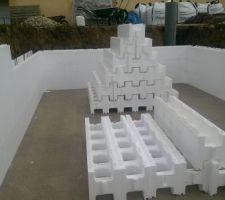 Montage des murs - en irribloc premium