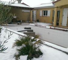 Sous la neige ;)