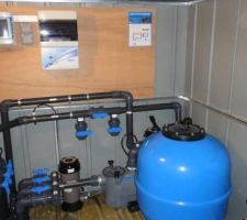 Tuyauteries systeme filtration