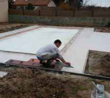 Impression terrasse beton
