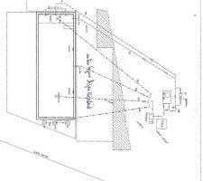 Schéma hydraulique de la piscine - Premiere jet. les calculs de perte de charge devront confirmer le calcul  de la pompte et des sections des canalisations. Allons jusqu'au bout SVP !!!!!!!