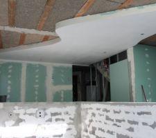 Réalisation du faux plafond