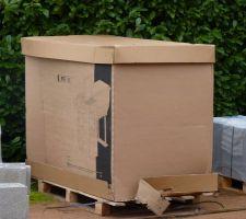 Carton contenant le panneau filtrant (PFI 181)