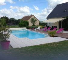 Piscine desjoyaux 9x4 les photos de la piscine - Forum piscine desjoyaux ...