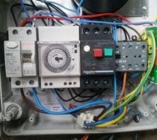 Branchement electrique PAC