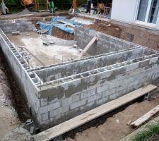 Poursuite montage murs