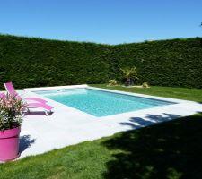 Photos de piscines for Piscine coque 8x4m