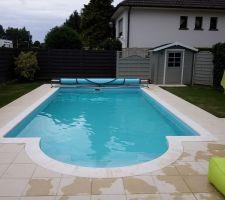 piscine terminée