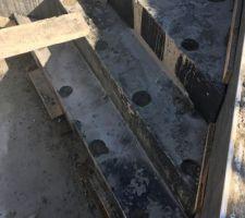 Escalier coulé