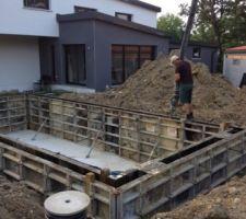 Pompe ciment