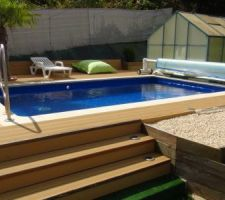 Photos de piscines for Piscine coque 3x3