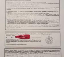 Dossier déposé en mairie le 27/07 pour un début des travaux le 21/09