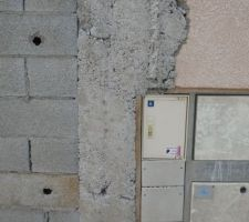 Remontage du mur de cloture
