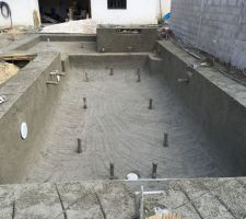 Photos de piscines forme autre - Piscine coque 6x4 ...