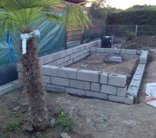 Construction d'un petit abri