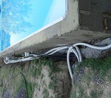 Elle est en eau et pas de fuite sur le circuit filtration