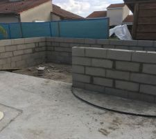 Construction Pool House