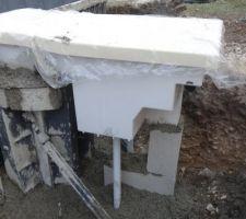 Scellement du bloc de filtration