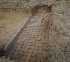 Terrassement pour la fosse Prima
