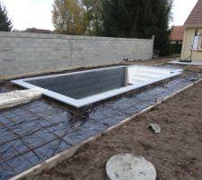 Préparation des terrasses