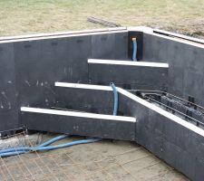 Montage de l'escalier