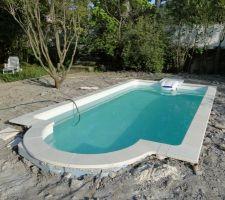 Petite piscine 5 x 2 50 les photos de la piscine for Prix piscine beton 7x4
