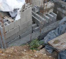 Montée des murs: 2ème ceinture